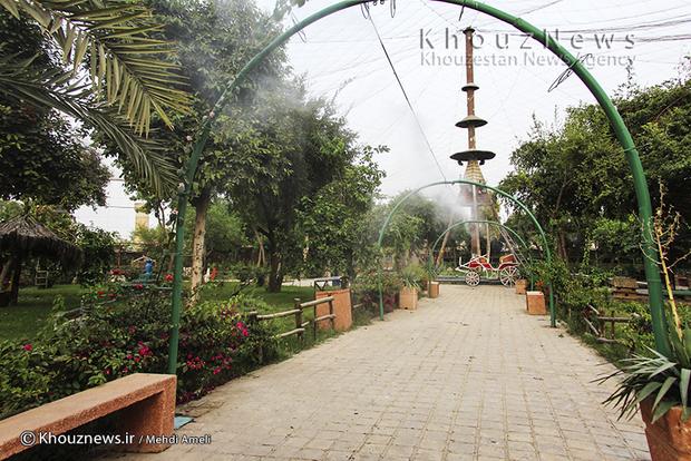 تصاویری زیبا از باغ پرندگان دزفول
