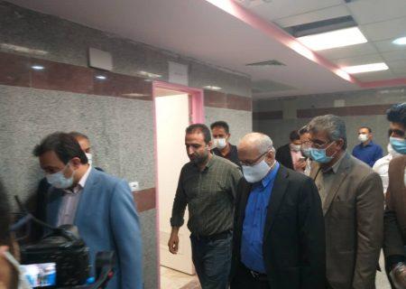 حضور دکتر ابول نژادیان و عبداله ایزدپناه در جلسه ستاد مبارزه با بیماری کرونا