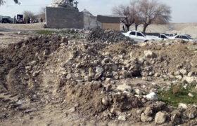 """تخریب تپههای محوطه تاریخی """" تازنگ سویلی"""" در باغملک"""