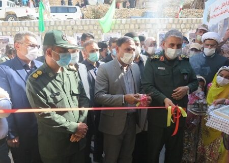 افتتاح آموزشگاه سه کلاسه شهدای کی شمس روستای شله دان منطقه عشایری فاله ایذه