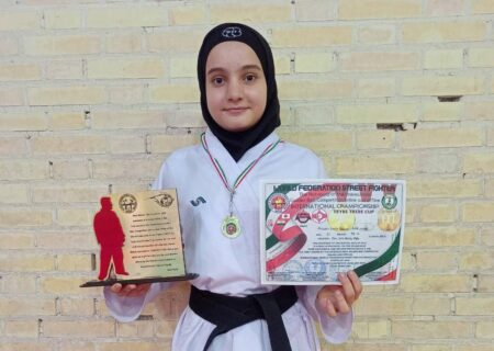 نازنین زهرا کاظمی قهرمان اولین دوره مسابقات بین المللی استریت فایتر شد